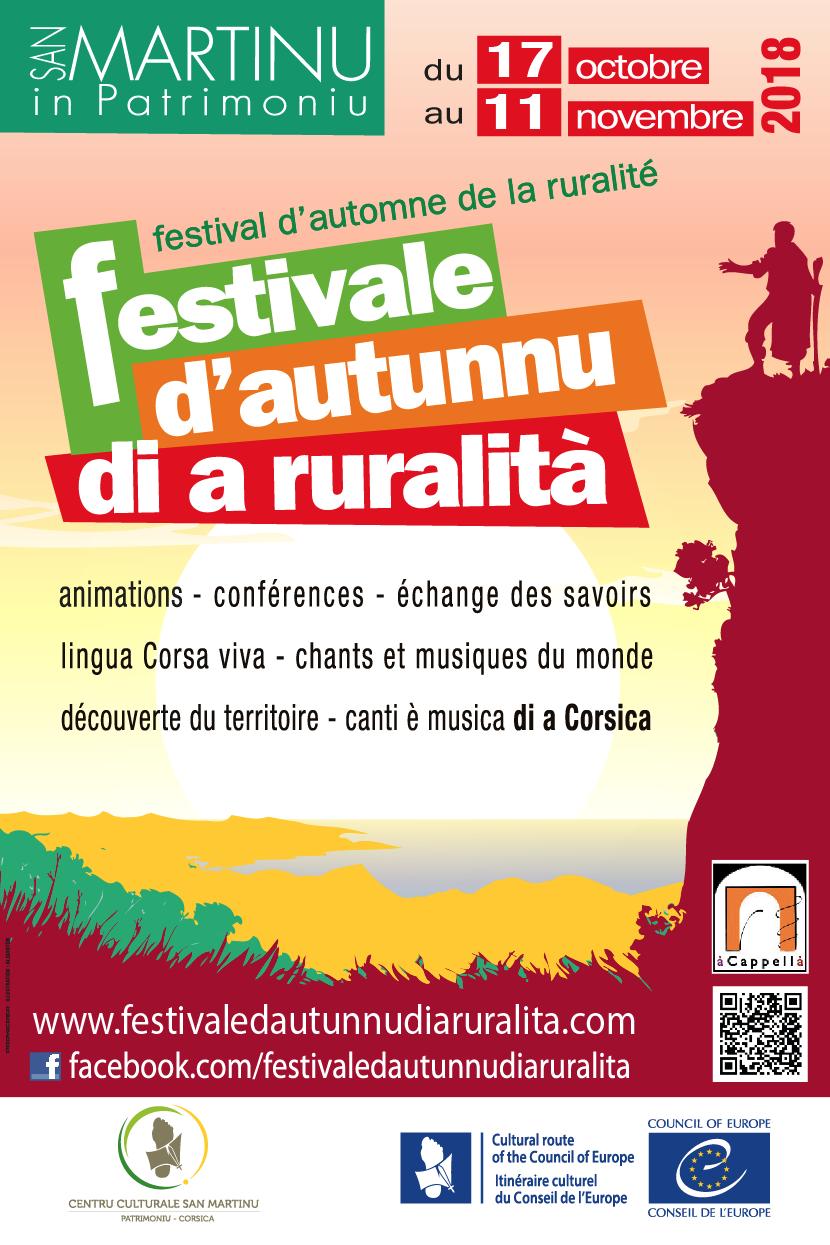 Festival d'automne de la ruralité : un voyage culturel sur la Via San Martinu