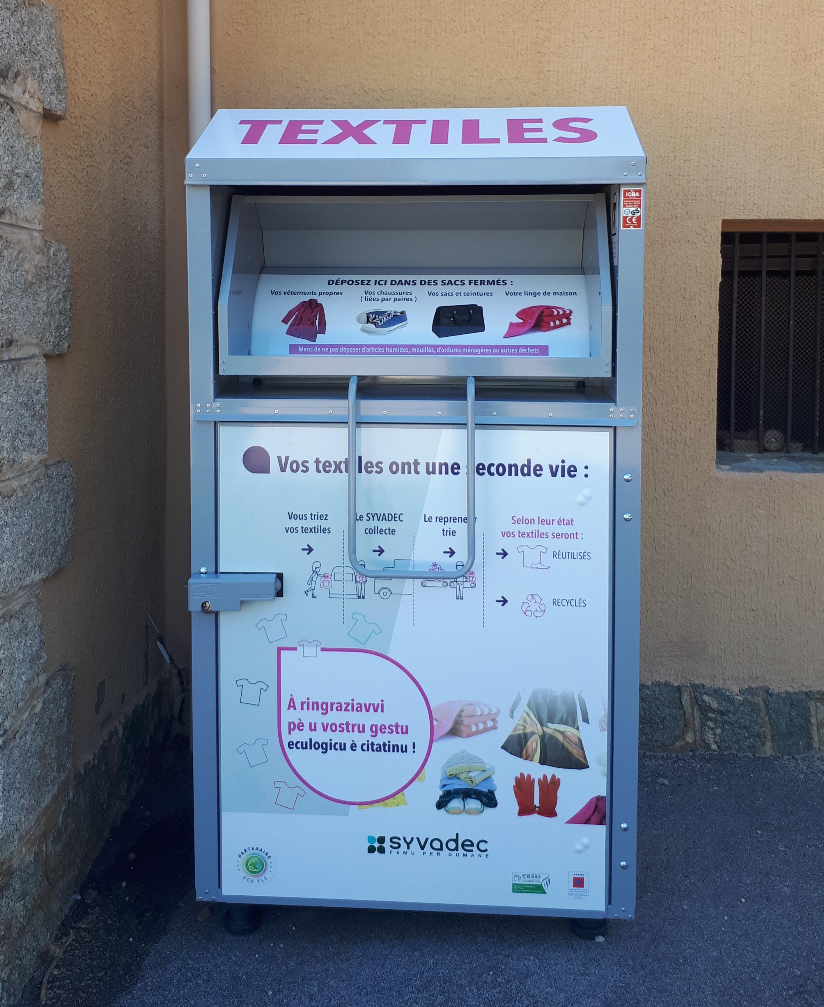 Déchets : Le recyclage du textile poursuit sa croissance en Corse