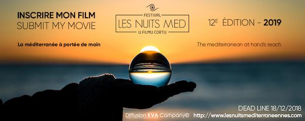 Festival Les Nuits Med, U Filmu Cortu : appel à scénarios jusqu'au 8 décembre