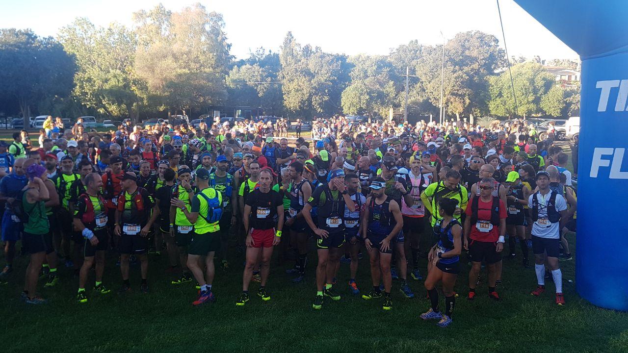 La société Nubeus a été accompagnée par une trentaine de coureurs corses en Sardaigne