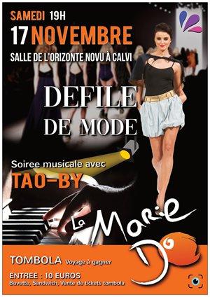 Journées Balagne de la Marie-Do: Défilé de mode, Tao By, Kholanta... à Calvi