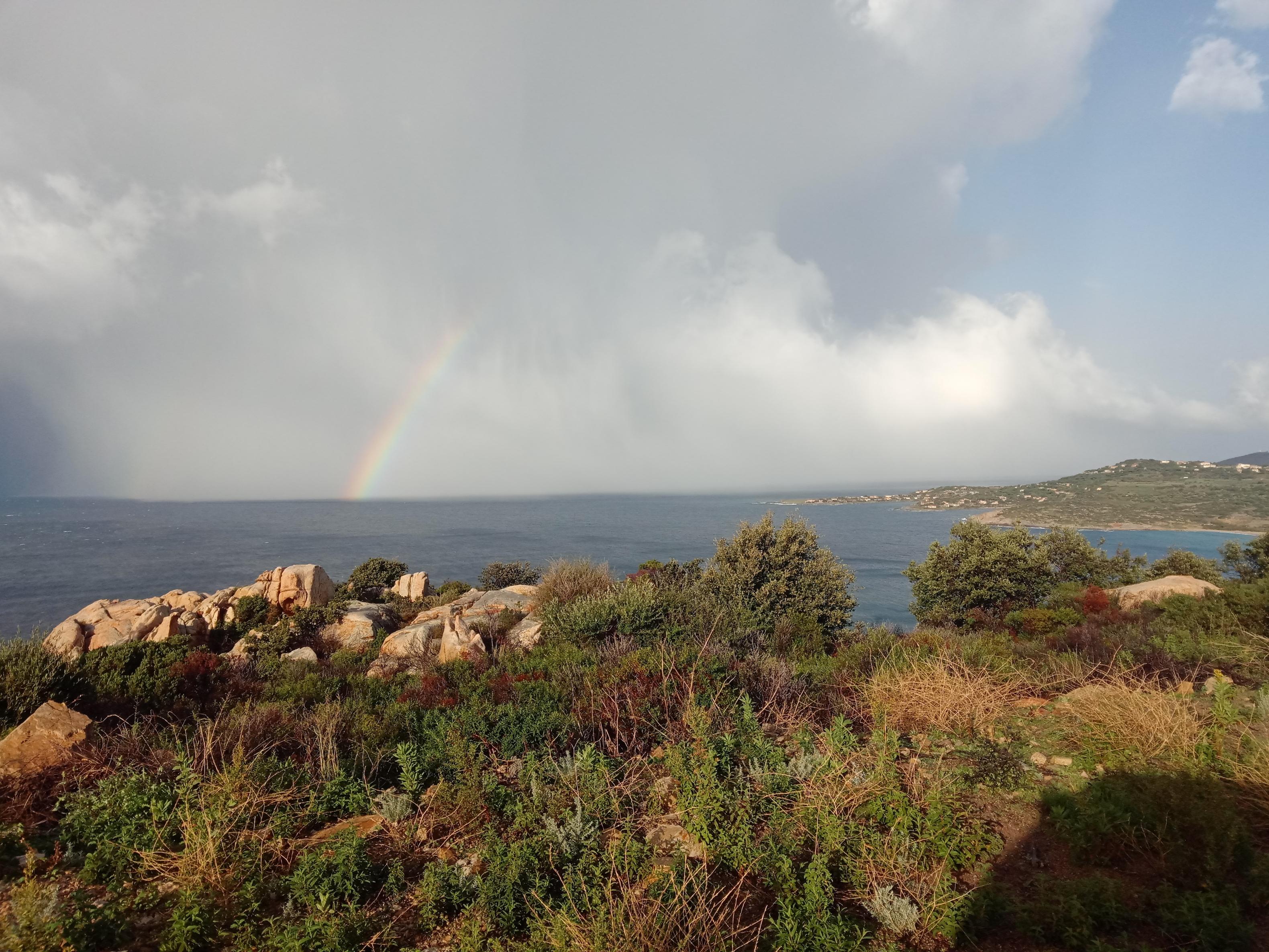 Aghjola depuis le mont Saint-Joseph (David Dellacroce)