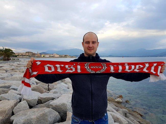 Pierre-Nicolas Beretti (« l'Orsi Ribelli »):  « On attend ce derby avec impatience »