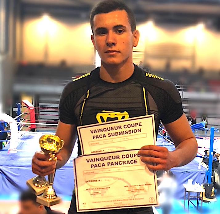 Hugo Boigeol ouvre victorieusement la saison du KTP MMA Scola de Furiani