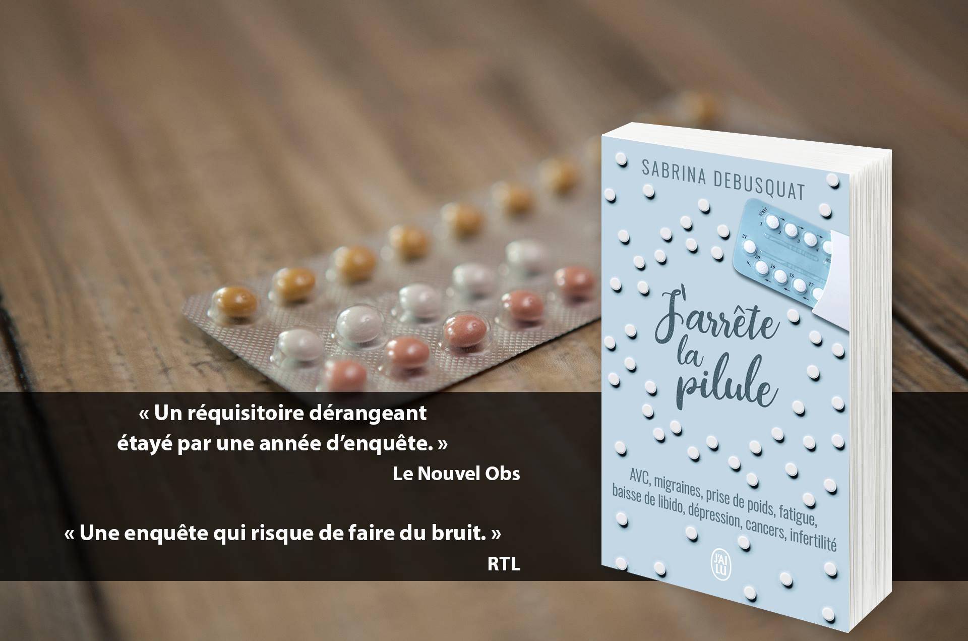 «J'arrête la pilule» le livre enquête de Sabrina Débusquât présenté ce dimanche à Lucciana
