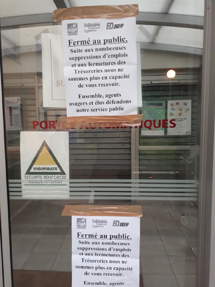 Le centre des finances publiques de Bastia bloqué ce mardi