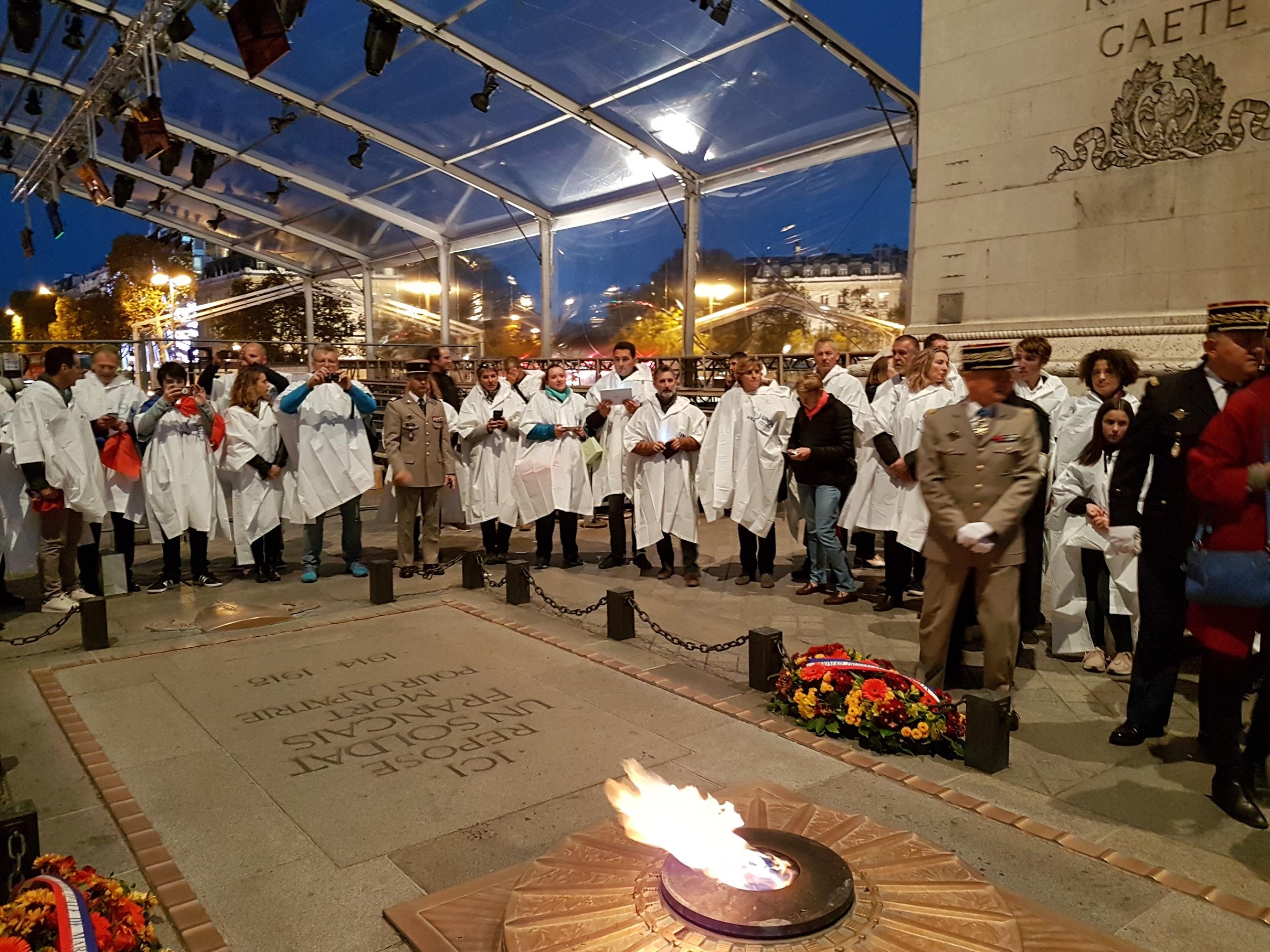 Centenaire du 11-Novembre :  Une délégation de la Haute-Corse à Paris