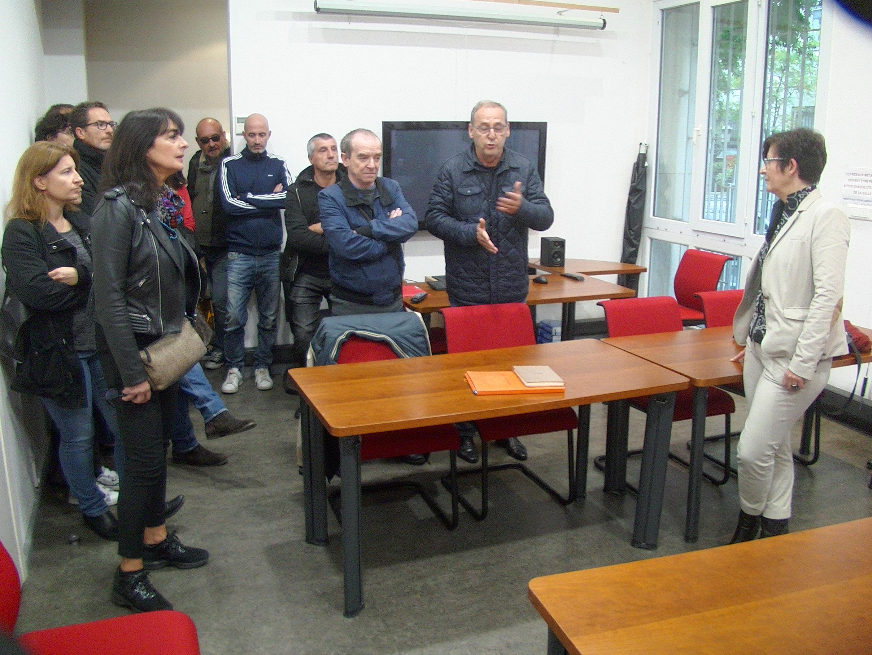 JP. Battestini pour l'intersyndicale CGT/FO/Solidaires s'est félicité du recul de la direction concernant les sanctions contre les agents en grève !