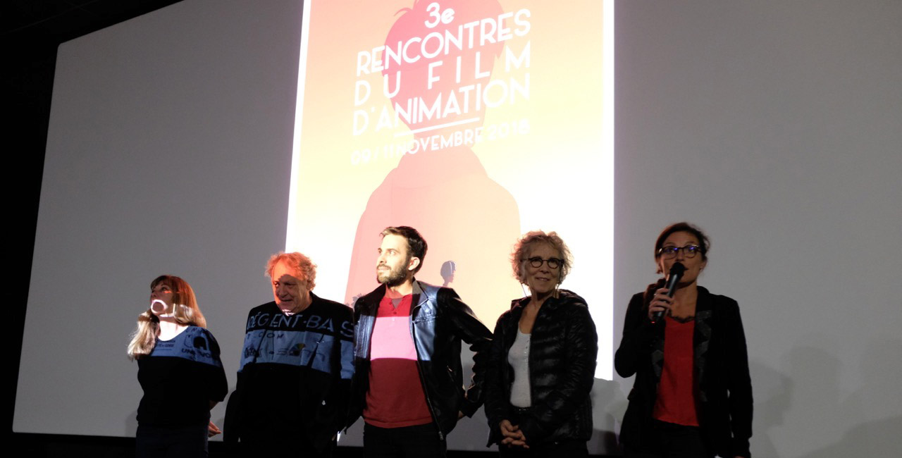 Le jury avant la projection de Parvana