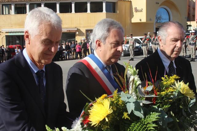 Centenaire de l'Armistice à Calvi : messe, cérémonies au Monument aux Morts et en mer