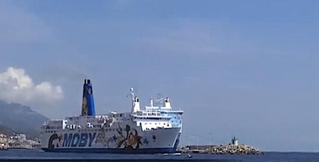 Moby Lines : Une nouvelle ligne estivale entre Piombino et Bastia