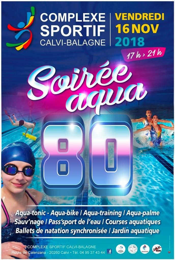 Soirée Acqua 80 au complexe sportif de Calvi-Balagne