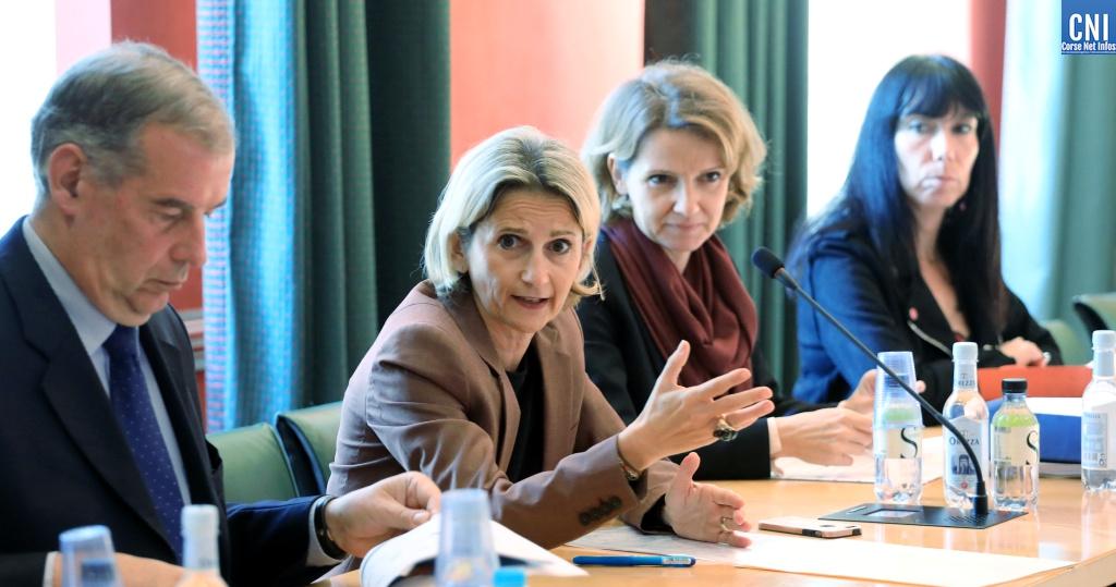 Benoît Bonnefoi et Marie-Antoinette Maupertuis (Photo Michel Luccioni)