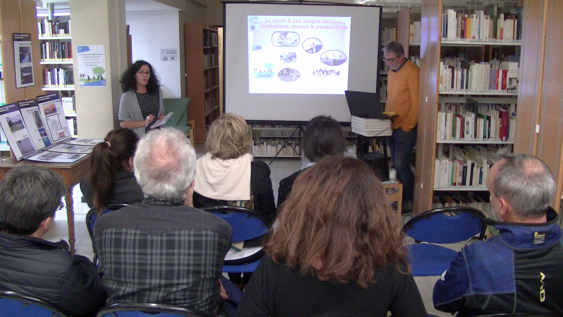 Bastia : « Le sport et ses usages sociaux » en question à la bibliothèque centrale