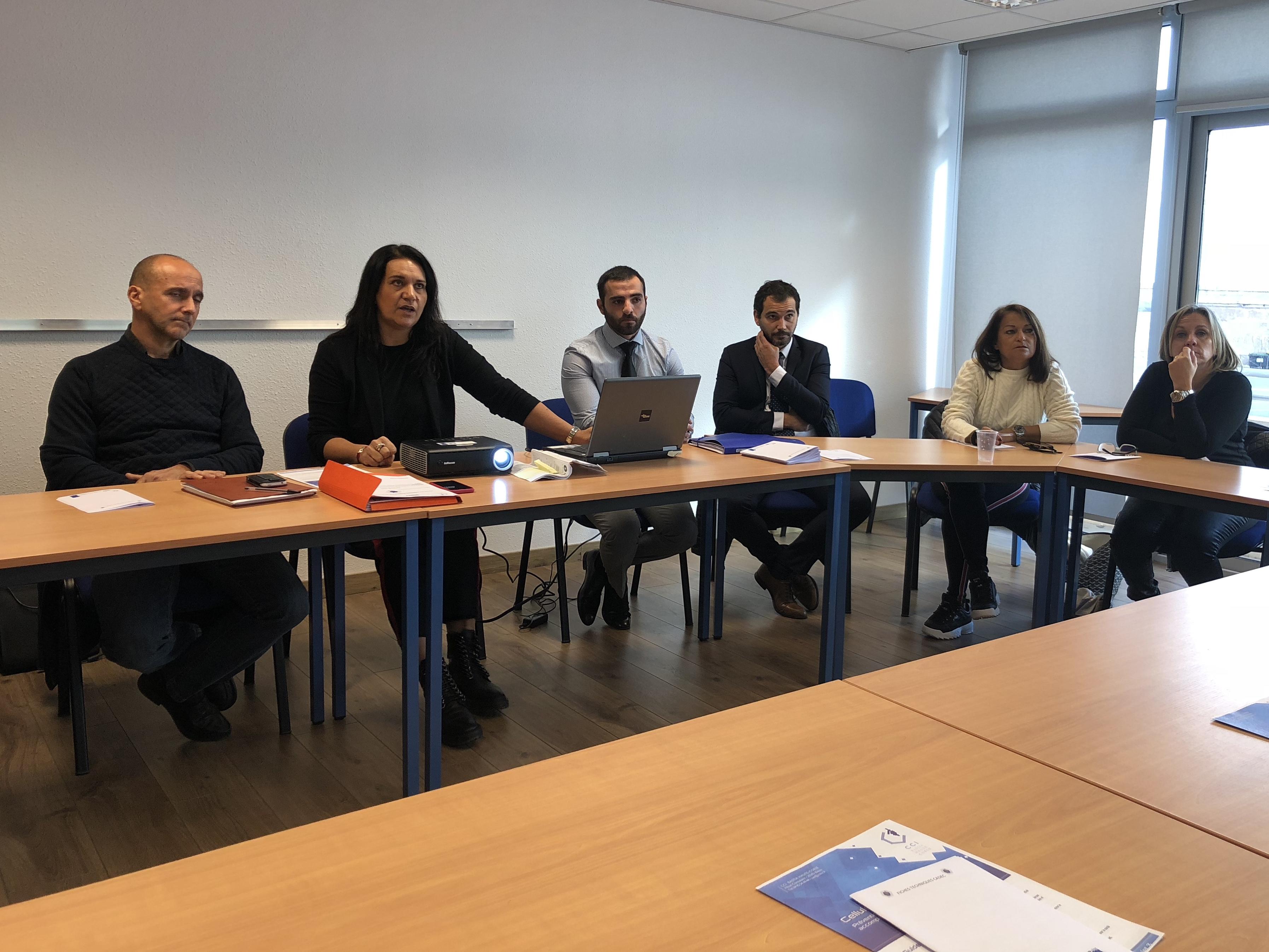 Ile Rousse : Les entreprises à la rencontre des organismes consulaires pour prévenir les difficultés