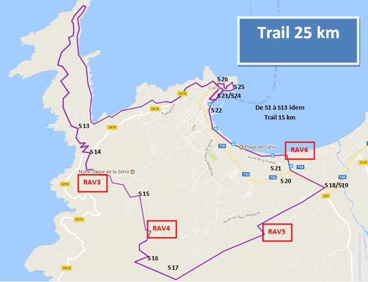 2e TRAIL IN CALVI les 24 et 25 novembre