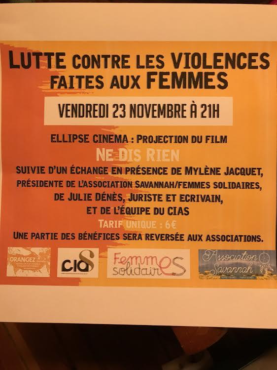 Ajaccio : Un film-débat pour dire non à la violence faite aux femmes