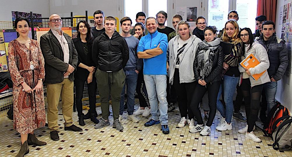 """""""La Der des Der"""", fait le plein au centre de documentation du collège Pascal Paoli d'Ile-Rousse"""