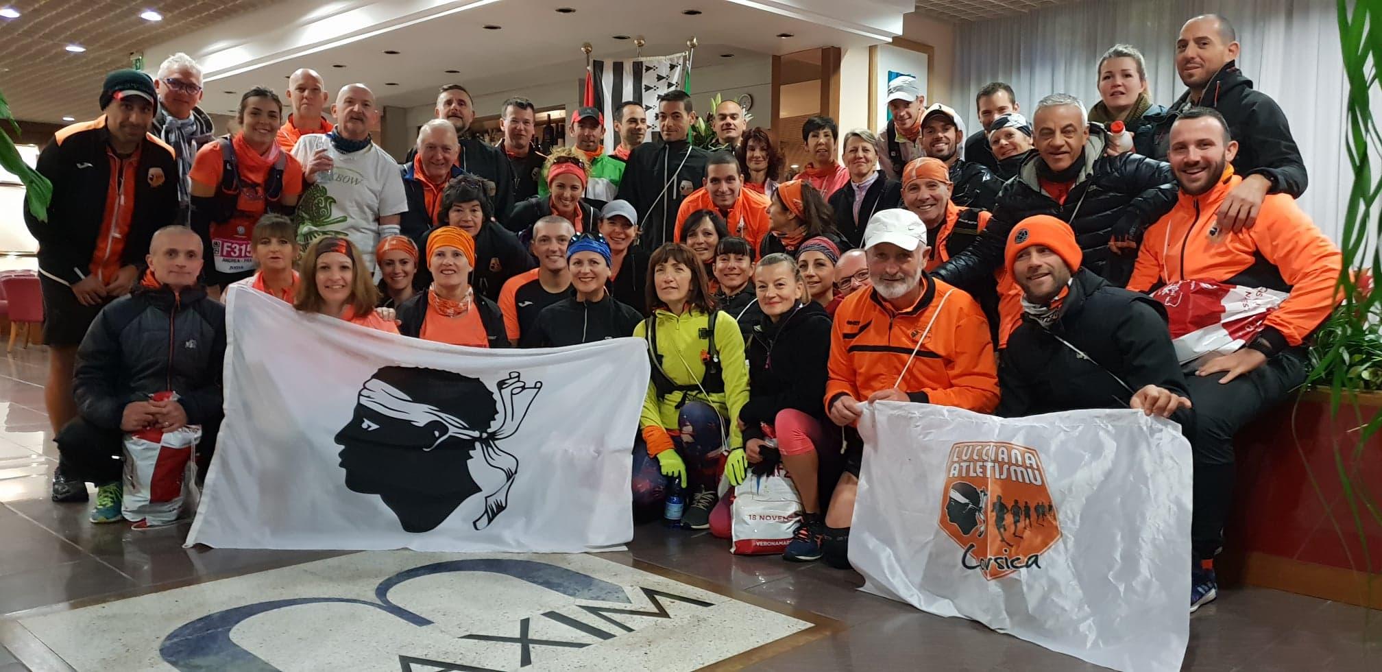 Lucciana Atletismu : De belles performances au marathon de Verone