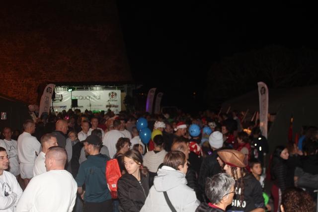 Marche nocturne  du cœur, de l'amitié et de la solidarité à Calvi