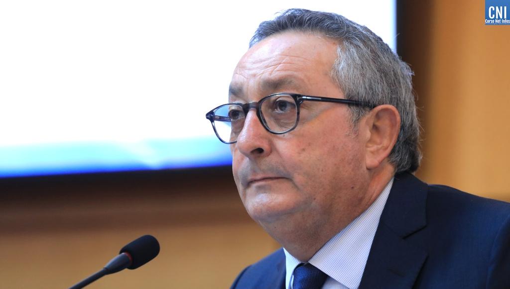 Paul Scaglia président du Cesec de Corse / Photo Michel Luccioni