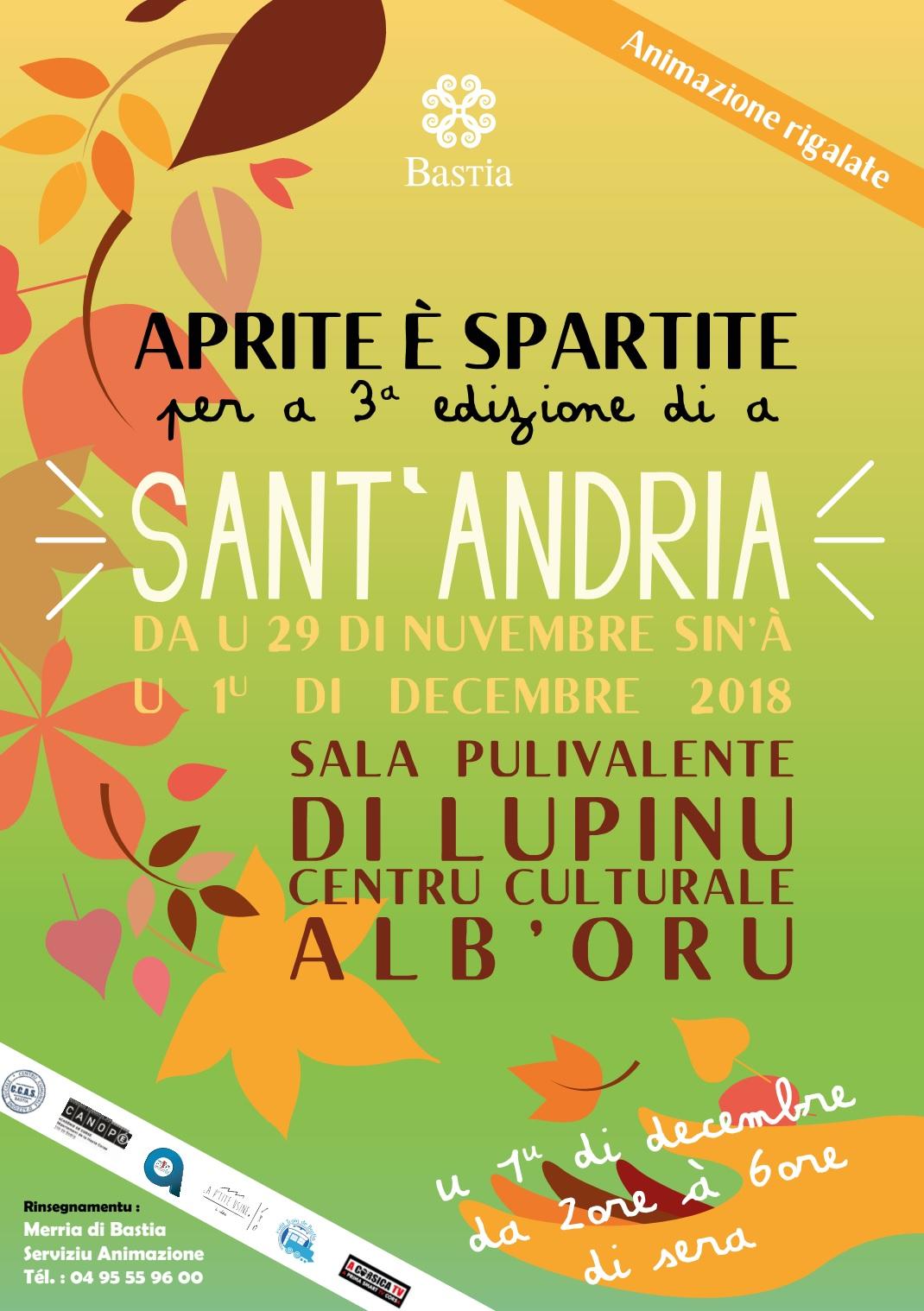Bastia : C'est parti pour les festivités de la Sant'Andria !
