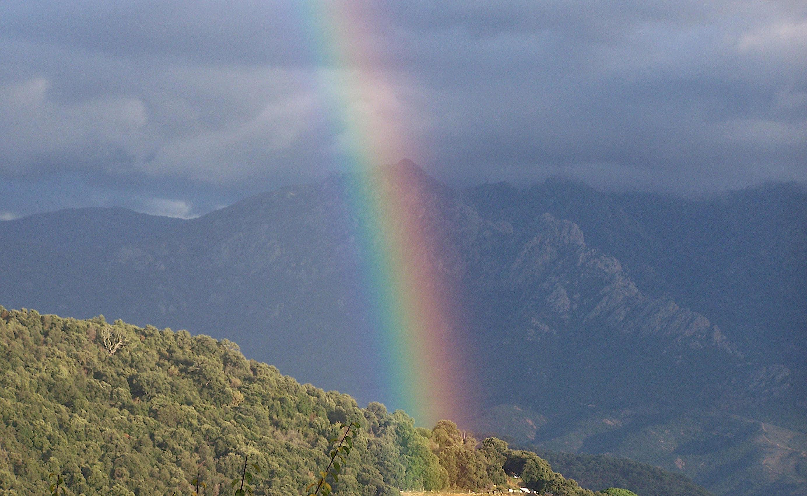 La photo du jour : L'arc-en-ciel de Valle-di-Mezzana