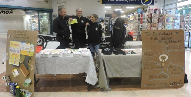 Le stand de l'association « Global Earth Keeper