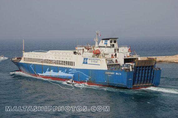 Euroferry Malta en panne au large de la Balagne : Le navire a redémarré