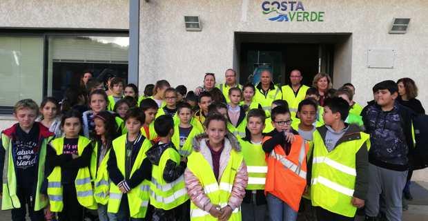 Les écoliers de Taglio-Isolaccio au pôle environnemental de Levole.