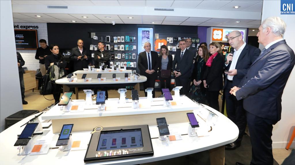 Ajaccio  : Un nouveau look pour la boutique Orange