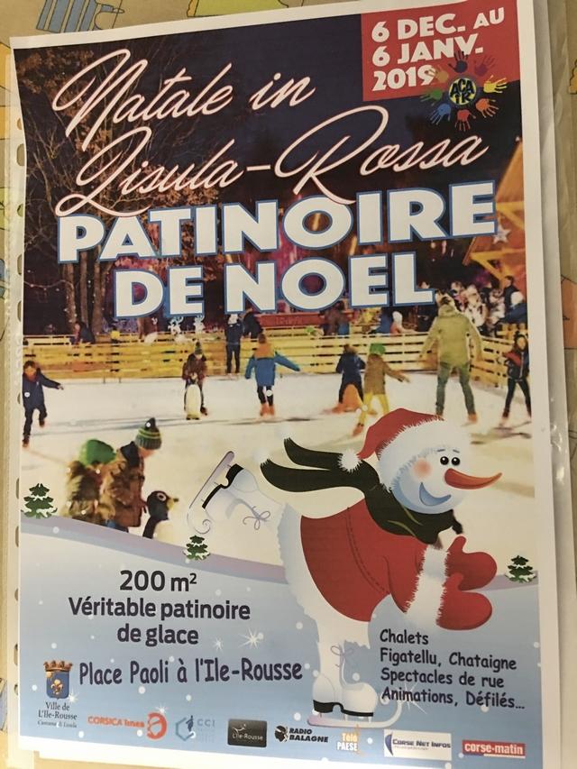 Inauguration ce jeudi de la patinoire de L'Ile-Rousse