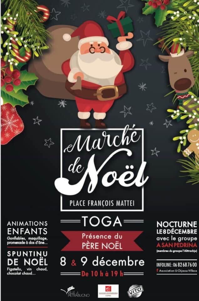 E Ville : Le marché de Noël de Toga revient les 8 et 9 décembre 2018