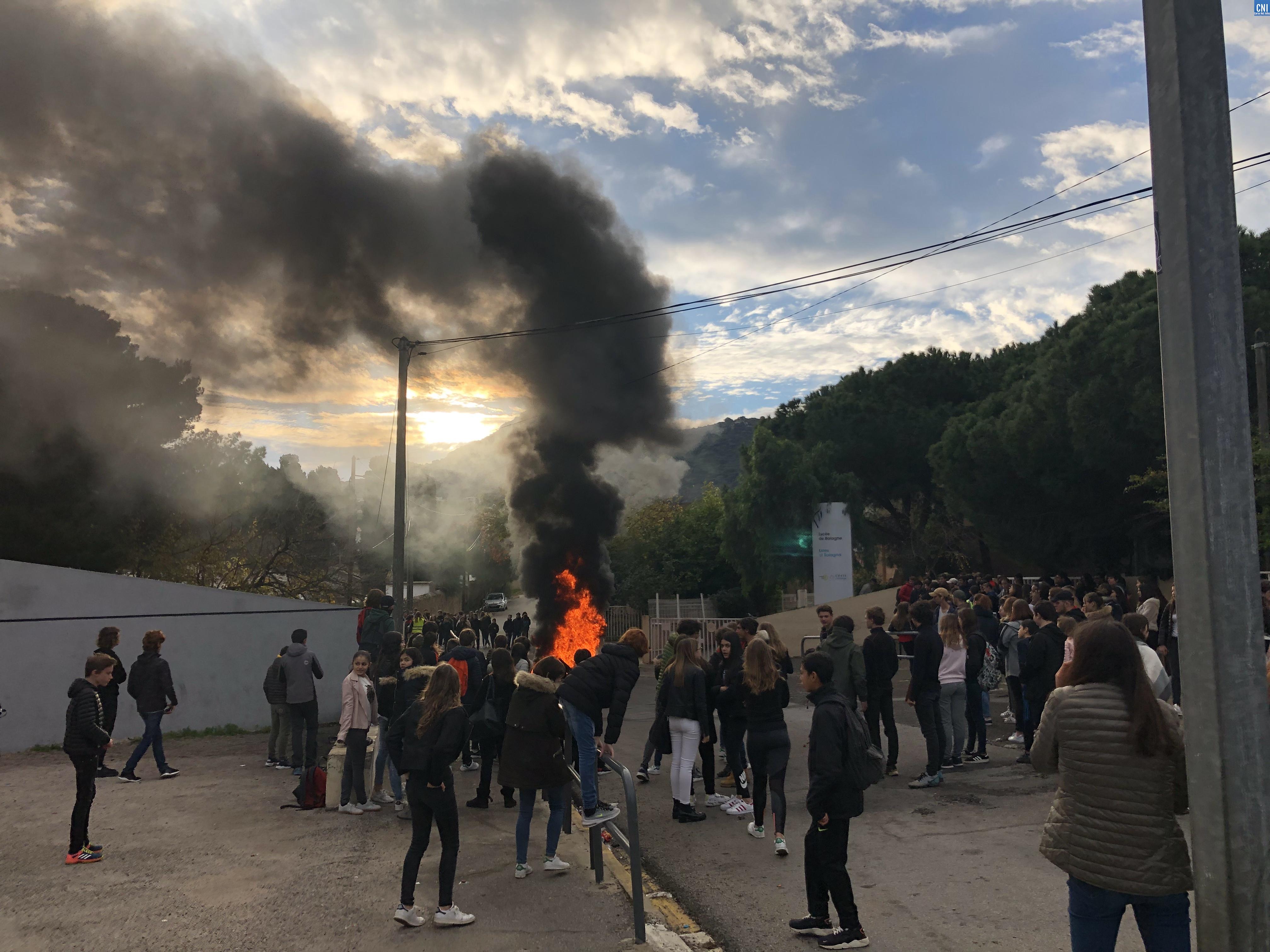 Nouvelle mobilisation des collégiens et lycéens de Lisula