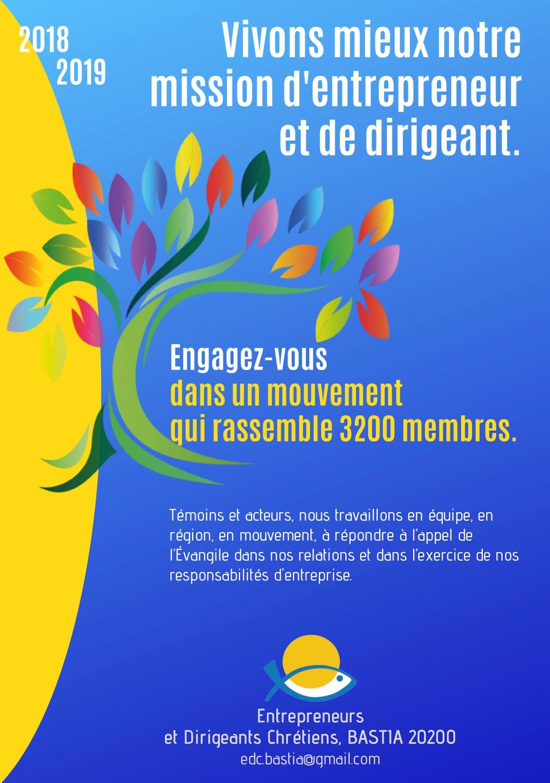 Bastia : Les Entrepreneurs et dirigeants chrétiens désormais présents en Haute-Corse