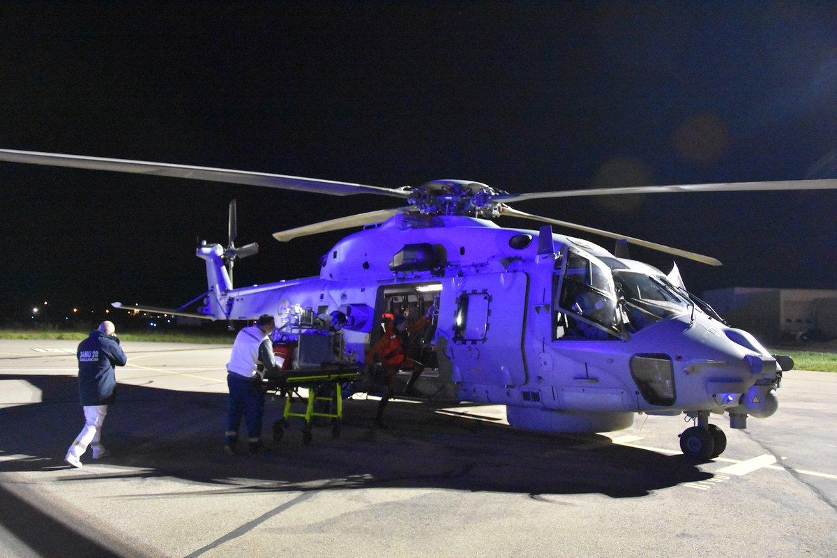 La Marine nationale transporte en urgence 3 nourrissons entre Nice et Bastia