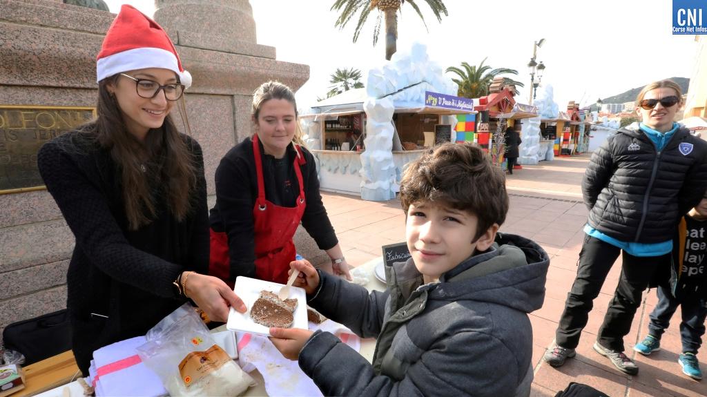 Le Syndicat des Jeunes Agriculteurs de Corse-du-Sud s'invite au Marché de Noël d'Ajaccio