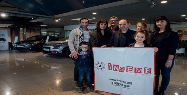 Tombola de Noel 2018 au profit de l'Association INSEME : une voiture à gagner