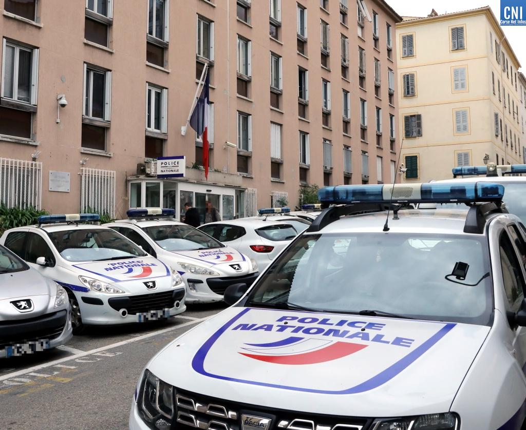 Le commissariat d'Ajaccio (Photos Michel Luccioni)