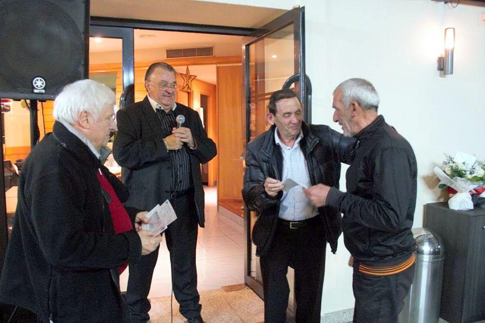 Amicale des Anciens du GFCA : Un chèque de 2 040 euros au profit des pêcheurs sinistrés