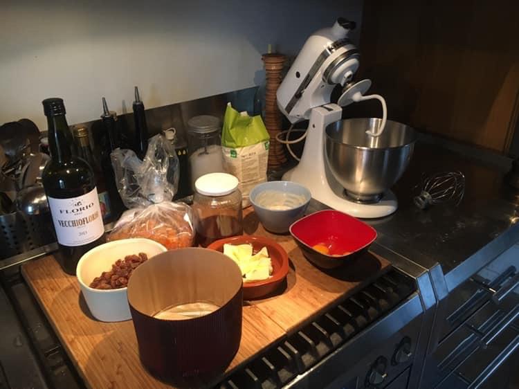 A Table : La recette du Panettone de Nathalie