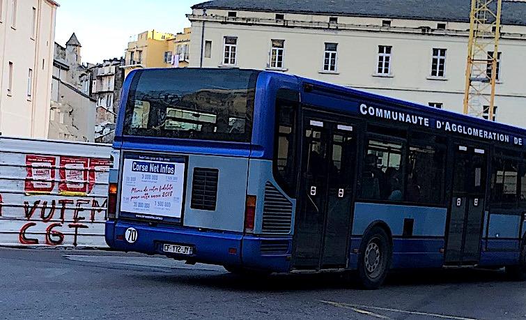 CNI affiche sa bonne santé sur les bus bastiais