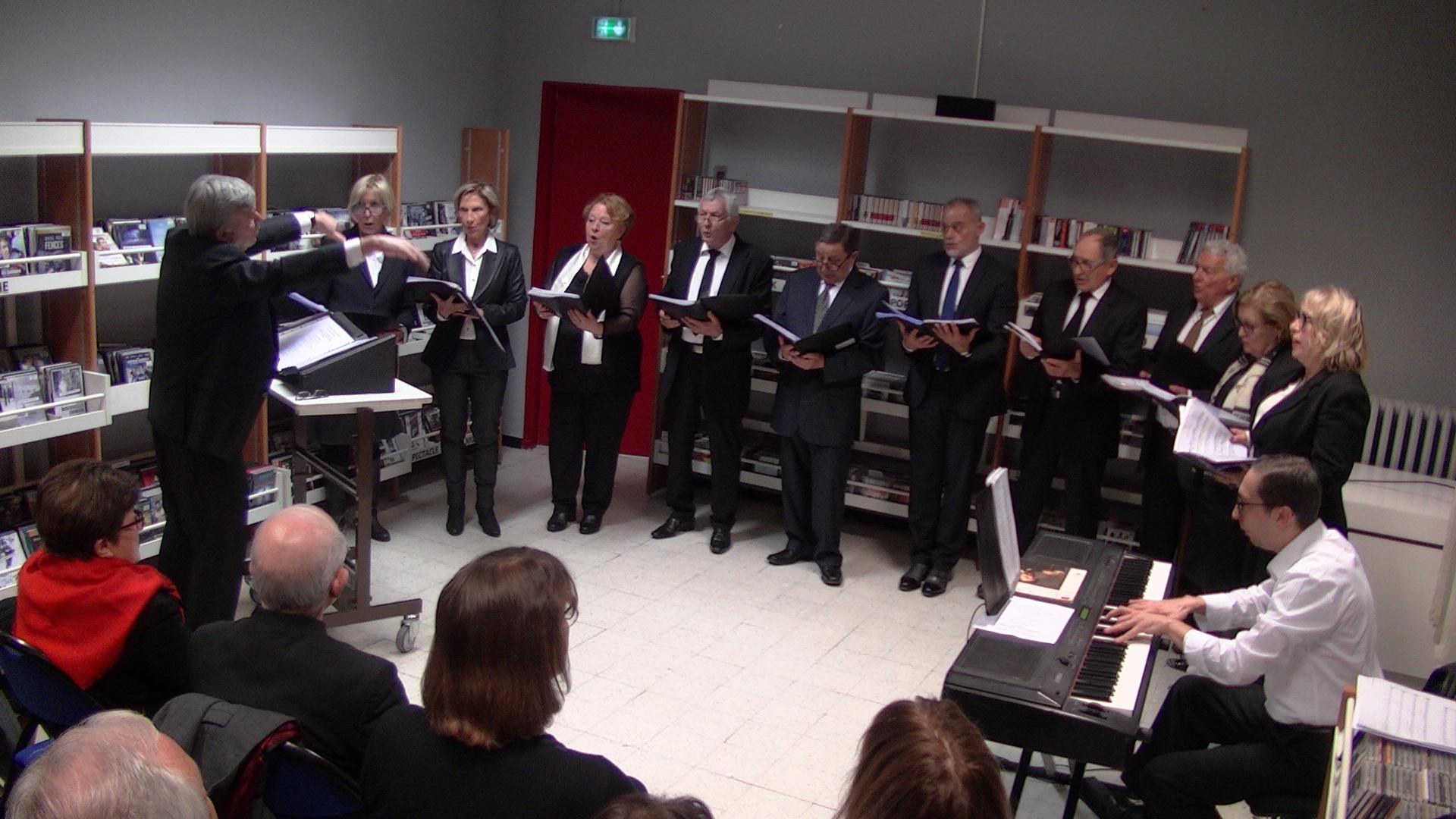 Bastia : Concert de Noël à la bibliothèque centrale