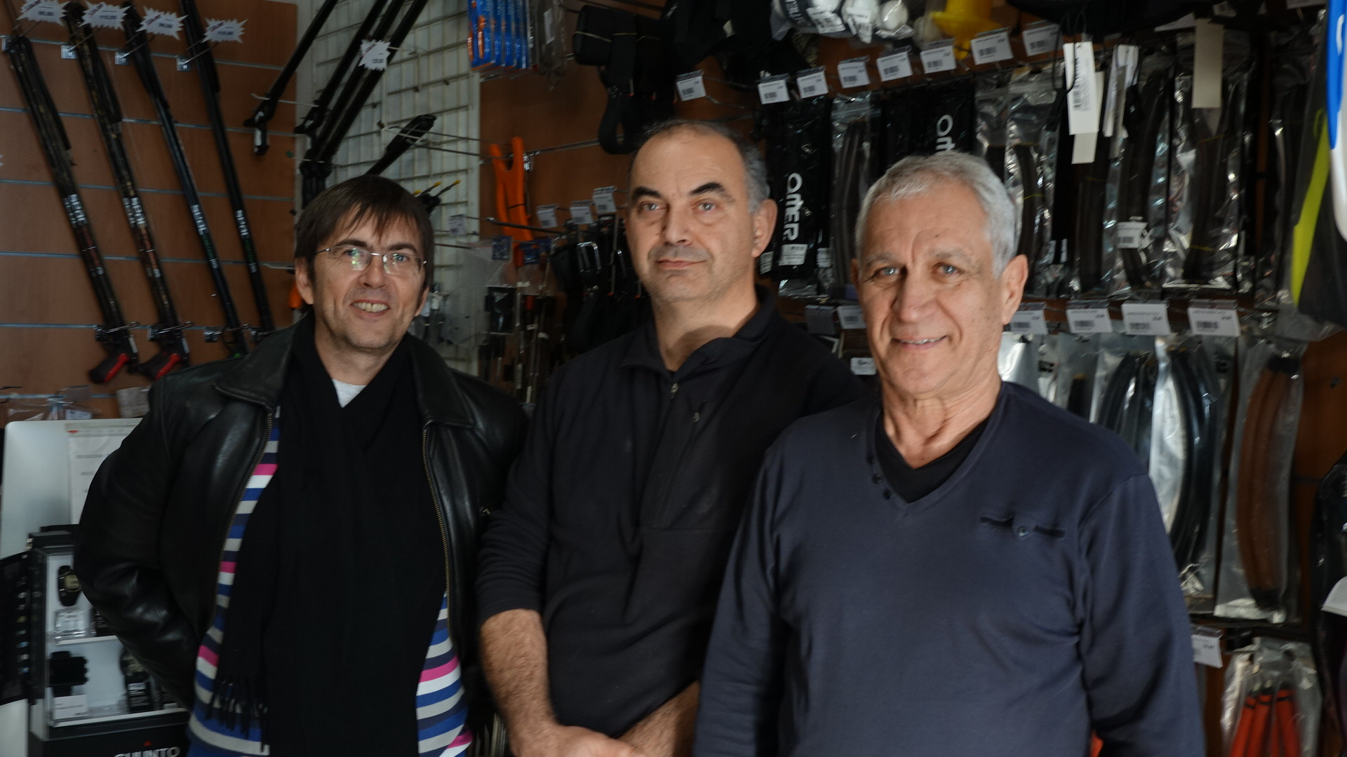 Julien Collet, Jean-François de Marco et Alain Vergnes : le coup de gueule des chasseurs sous-marins