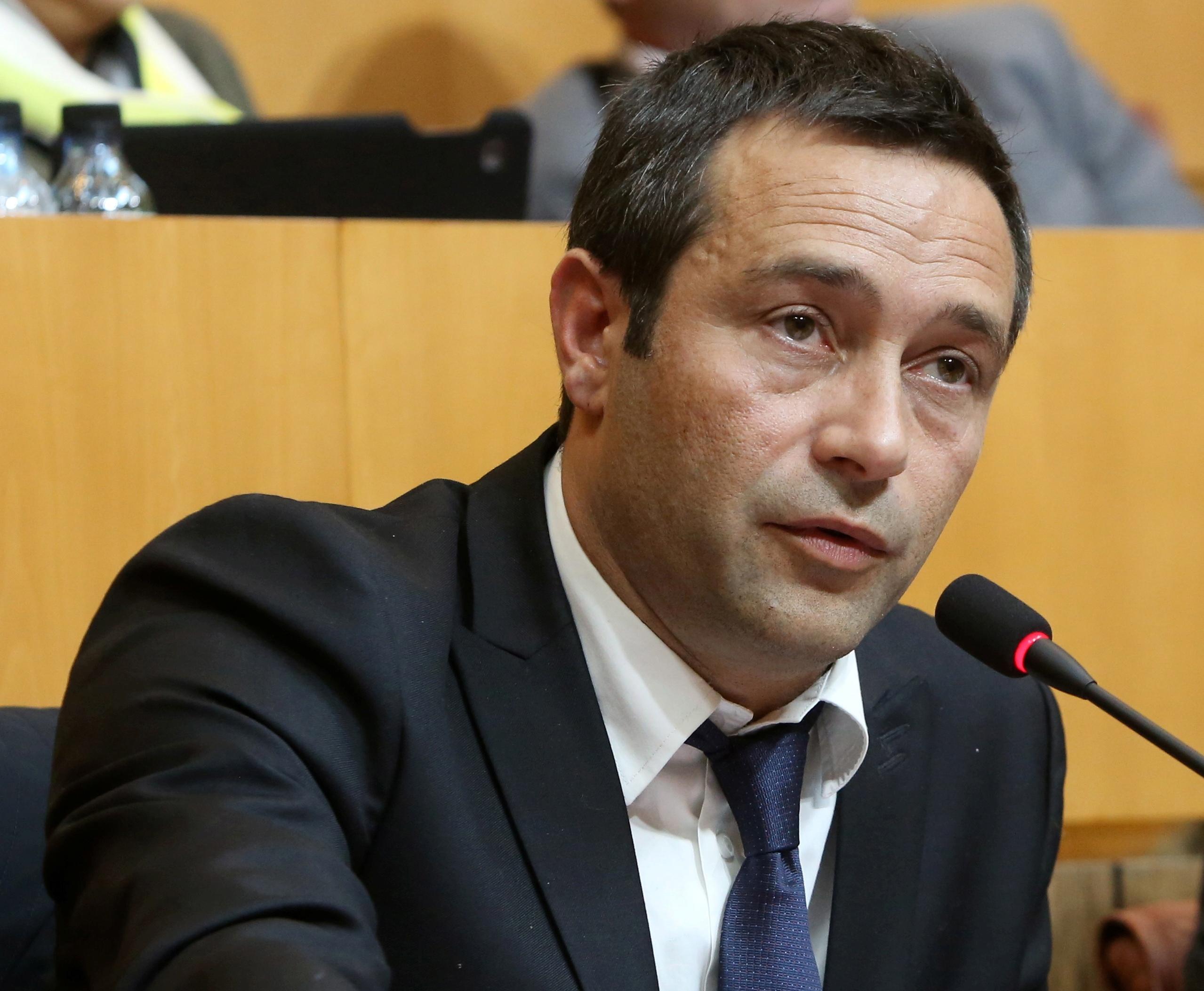 Jean-François Casalta, avocat, conseiller territorial Pè a Corsica et membre du PNC Aiaicciu. (Photo Michel Luccioni)