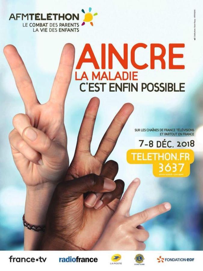 Le téléthon 2018 à San Benedetto : 3 520 € pour l'A.F.M. !