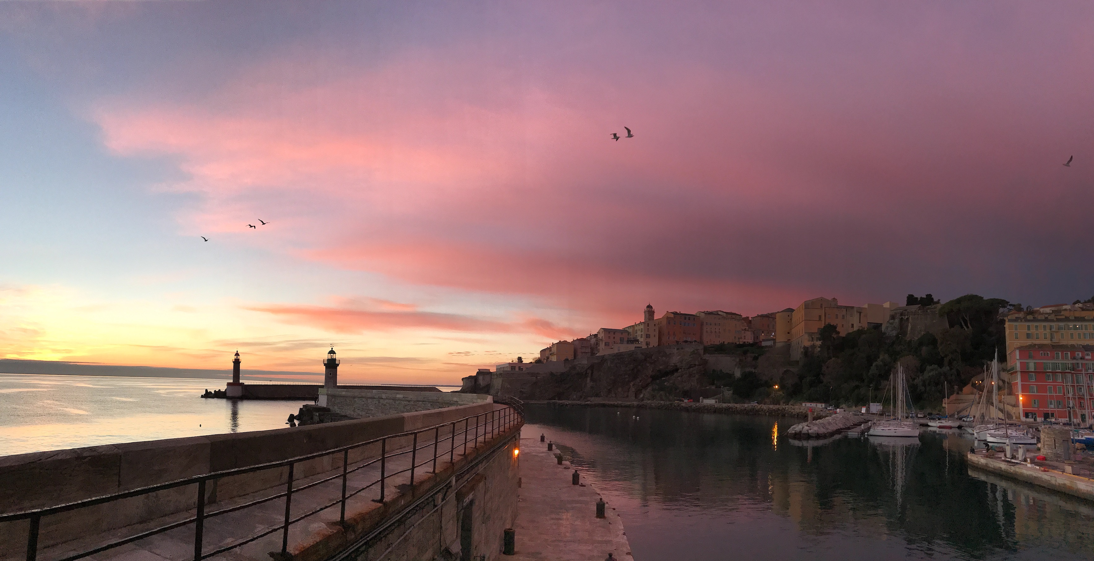 La photo du jour : Alba nova in Bastia