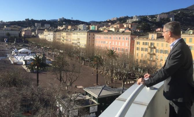Pierre savelli, maire de Bastia