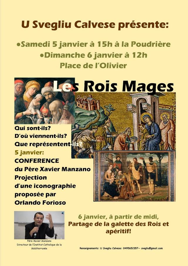 """Fête des Rois et conférence sur les """"Rois Mages"""" à Calvi"""