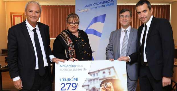 Marie-Hélène Casanova-Servas : « Air Corsica est un outil majeur de l'ouverture vers l'Europe »